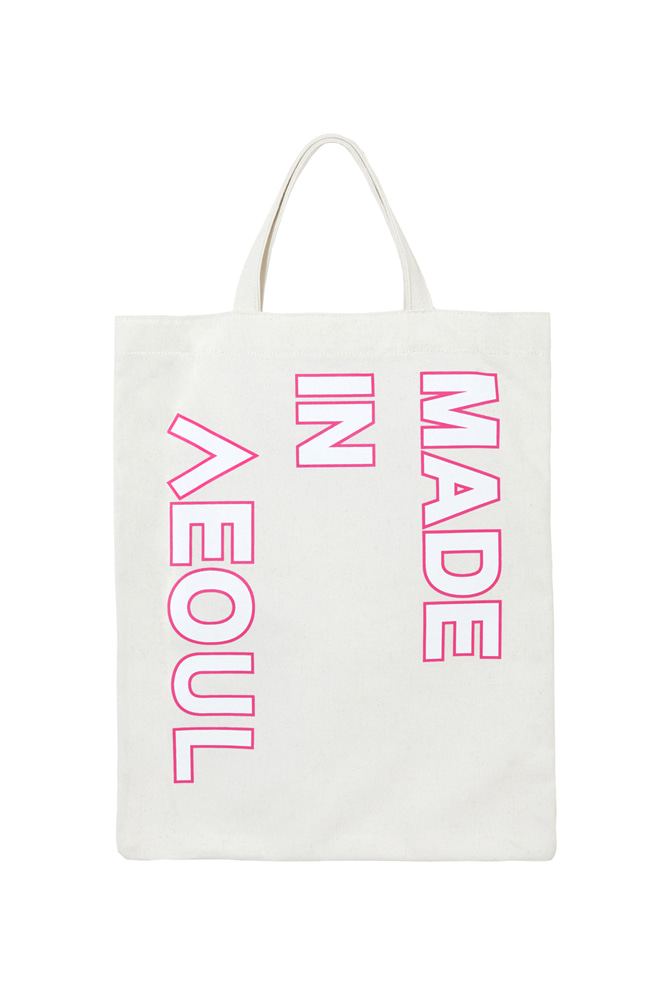 MADE IN SEOUL ECO BAG PINK